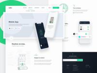 Nello - Mobile app subpage