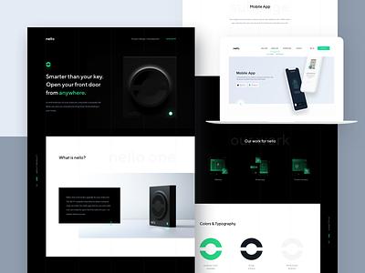 nello - Behance presentation website presentation interface app ux ui design case study behance intercom 10clouds nello