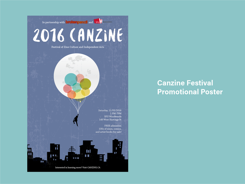 2016 Canzine Festival Promotional Poster