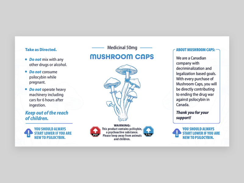 MushroomCaps Label