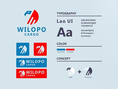eagle logo business art vector minimal icon illustrator business cards branding logo design