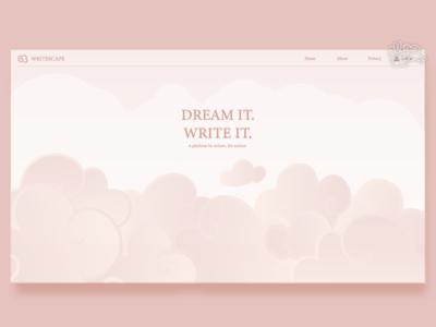 WRITESCAPE | Writing Platform [concept]