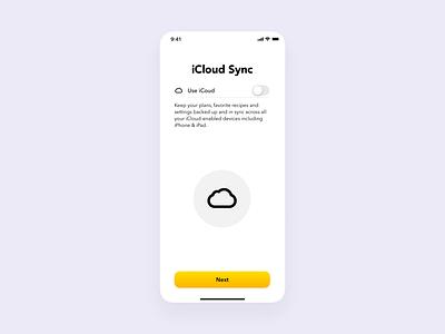 Plantry iCloud Sync Prototype principle protoype app ios
