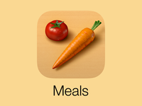 Veggie Meals iOS 7 Icon