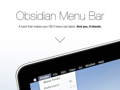 Obsidian Menu Bar dot com