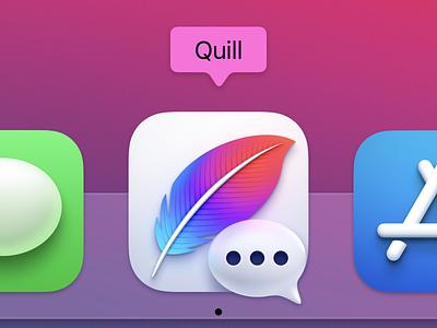 Quill Big Sur App Icon macos big sur app icon
