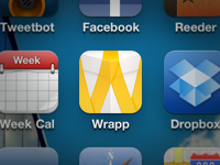 Wrapp iOS icon detail
