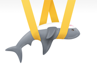 Wrapped Shark