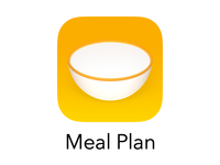Meal Plan App Icon Redux