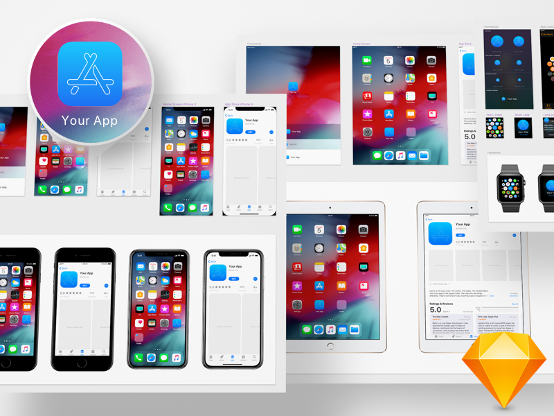 ios 12 app icon template by max rudberg dribbble dribbble