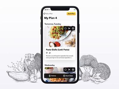 Browse Recipes app ios