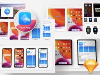 Free iOS 13 App Icon Template