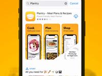 Plantry 3.3 App Store Screenshots