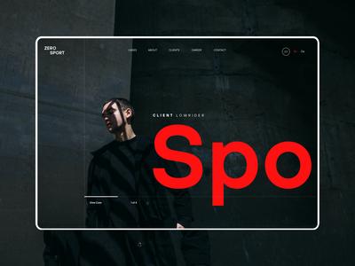 Homepage Screen Design