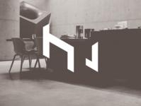 H & L  - logo type concept