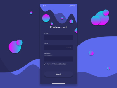 Create account page user interface design user interface userinterface input fields inputs create account app design mobile app design mobile design mobile ui ui design uidesign ui  ux uiux figma design figmadesign branding ui design