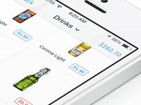 Drinks iOS 7