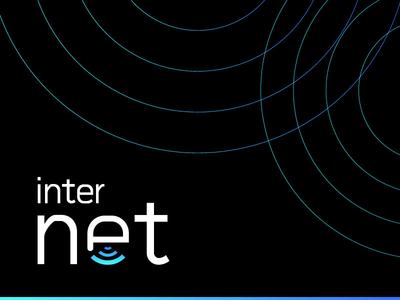 Internet typography logo logo design brand identity branding identity design