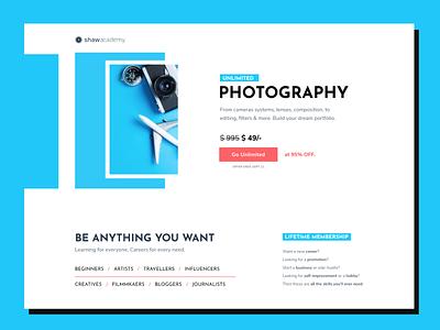 Back to School Campaign 2019 back to school marketing campaign web ui landing page website design web design