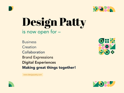 Hello World. :) agency studio patterns graphic design