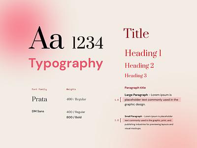 Brand Typography branding font typeface identity graphic design blur gradient typography