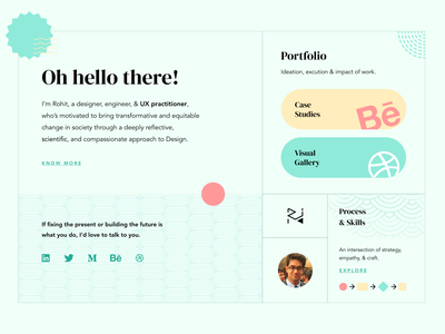Personal Website - Theme Exploration #3 composition japanese style personal website portfolio web design website identity brand ui design