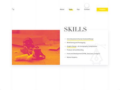 Personal Website 2017 - Scroll Animation identity animation web design landing page double exposure duotones portfolio personal website motion graphics
