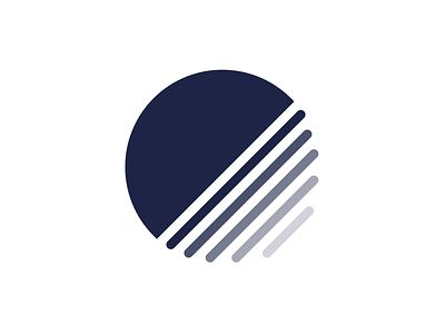 Personal Brand Logo personal stripes circle minimal logo