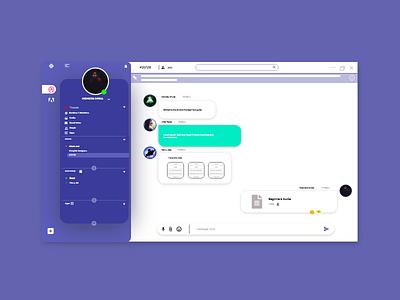 slack re-design web design ui