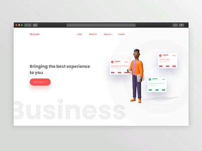 business ideas web ui