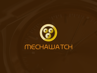 Mechanical watch Logo advertising prints illustration graphicdesign brand graphicdesign brand identity branding design branding creative logo creativity creative logotype logodesign logos logo