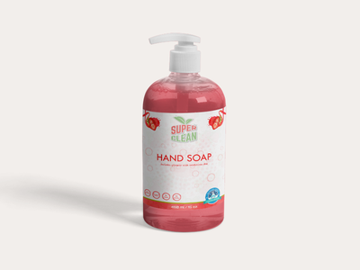 Hand Soap cosmetics cosmetic label packaging labeldesign label package packaging design packagedesign packaging