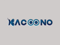 Butterfly logo design with the word KACOONO