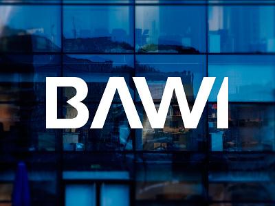 BAWI Rebrand handcraft typography corpo it service depot office debute stationary design rebrand logo