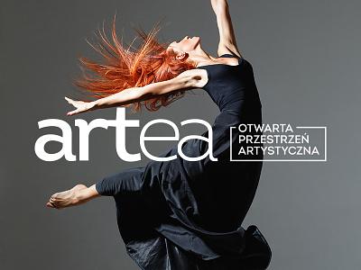 Artea brand dance art edu school branding brand design logo