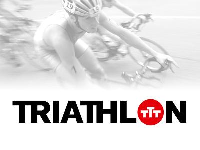 TTT Volvo Triathlon Series tri strong red event volvo brand sport triathlon logo