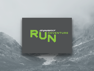 Run Adventure brand design run ultra marathon sport event logo