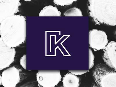 Kerno k doors wood branding brand iconic design logo