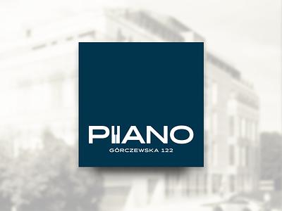 PIANO real estate investment investment music estate design brand logo