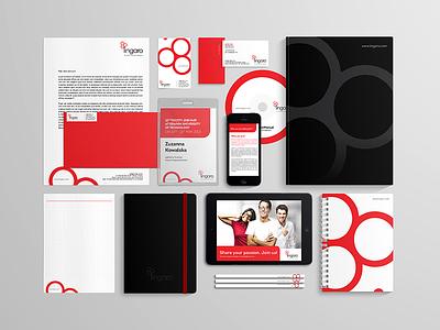 Lingaro software identity logo upgrade it design brand