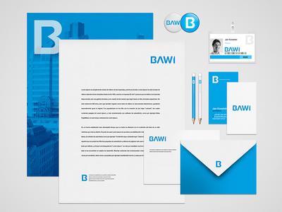 BAWI Rebrand vol. 2 office depot blue b brand design logo rebrand