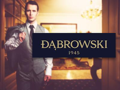 Dabrowski Rebrand fashion brands program rebrand band design logo