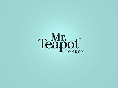 Mr.Teapot graficzny.pl maszkowski london tea brand logo