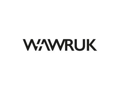 Wawruk window space negative wordmark w maszkowski rebranding logo
