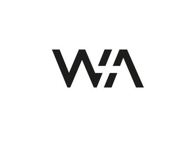 Wawruk w window space negative rebrand logo