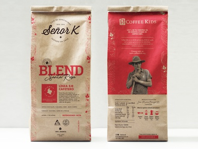 Coffee - Packaging design
