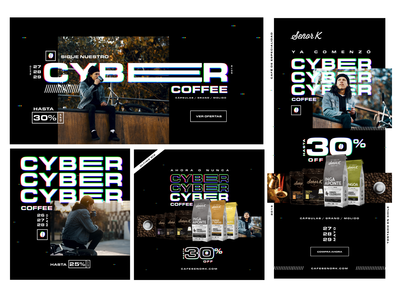 Coffee Cyber day - Digital campaign