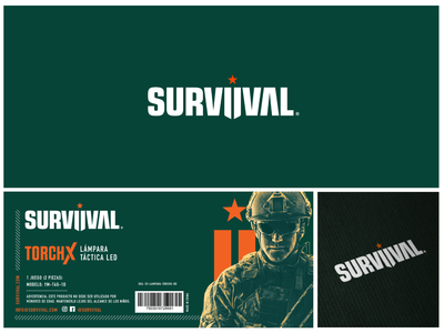 Branding survival gear