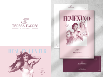 Beauty Center Branding design