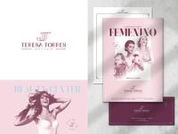 Beauty Center Branding design